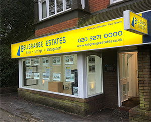 Bellgrange Estates in Edgware, Middlesex